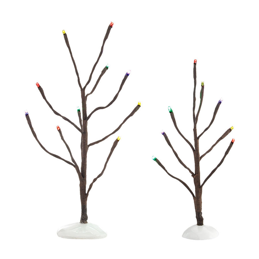 VA, Multi Color Lights Bare Branch set/2, 4038817