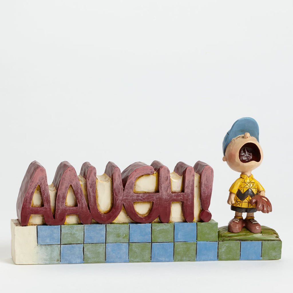 Peanuts AAUGH Word Plaque