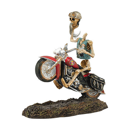 Halloween Village Headless Harley® Rider