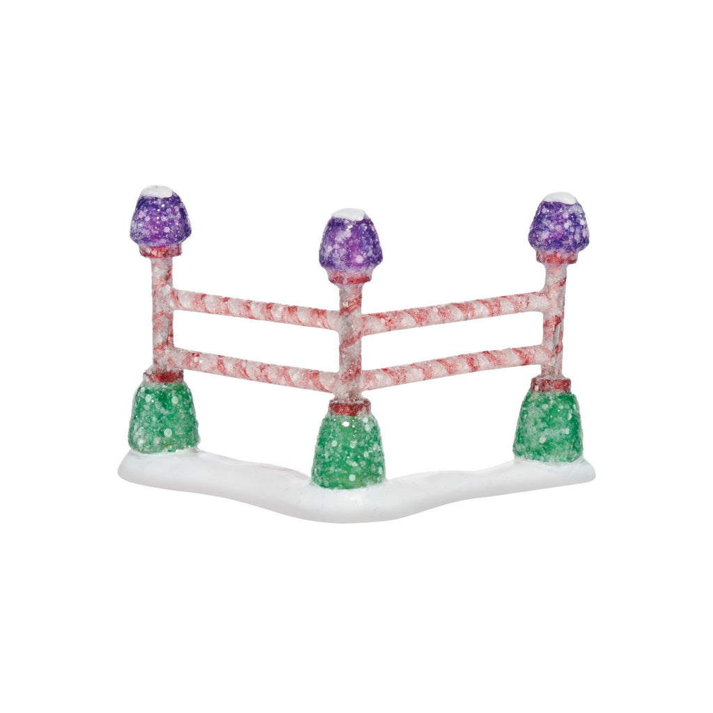 Department 56 Gumdrop Park Corner Fence