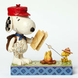Jim Shore Peanuts Snoopy and Woodstock