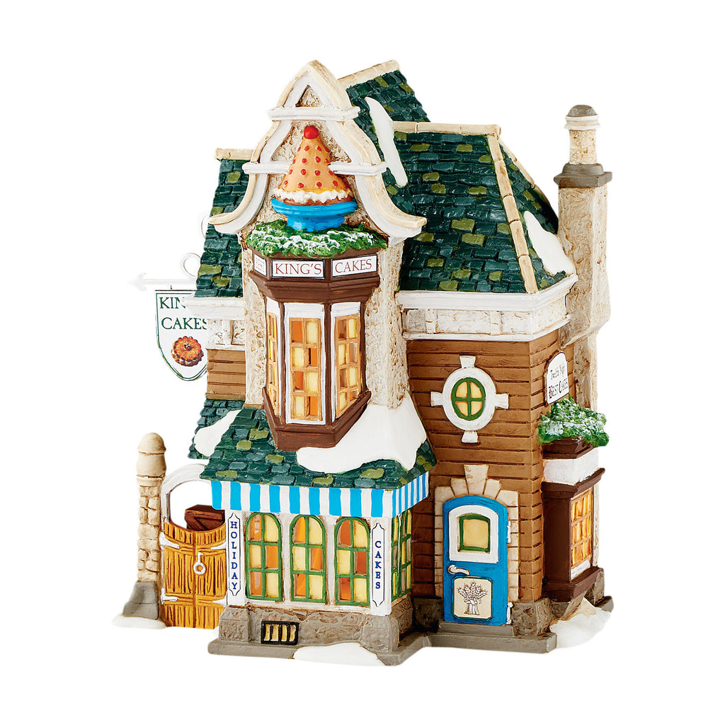 Dickens Village Kings Cakes