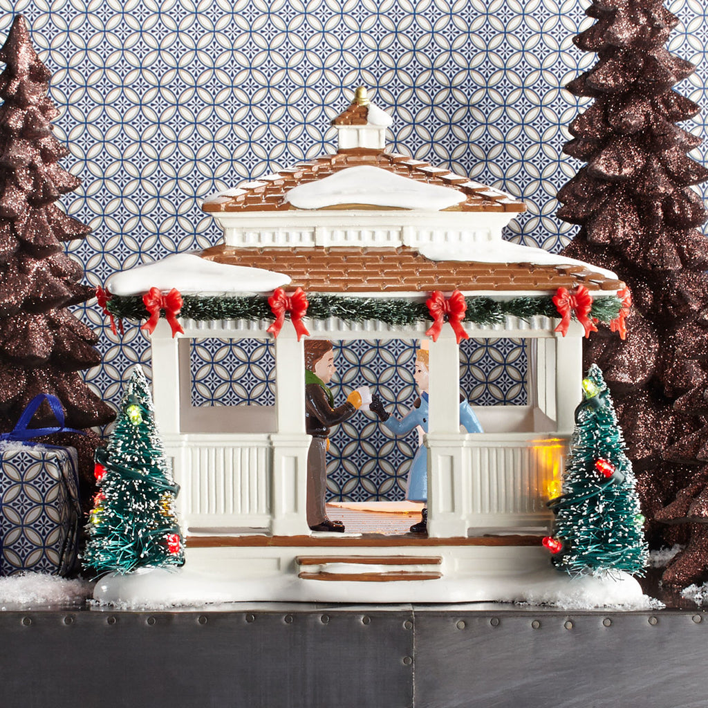 Anniversary Gazebo, Snow Village