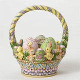 Jim Shore Easter Basket