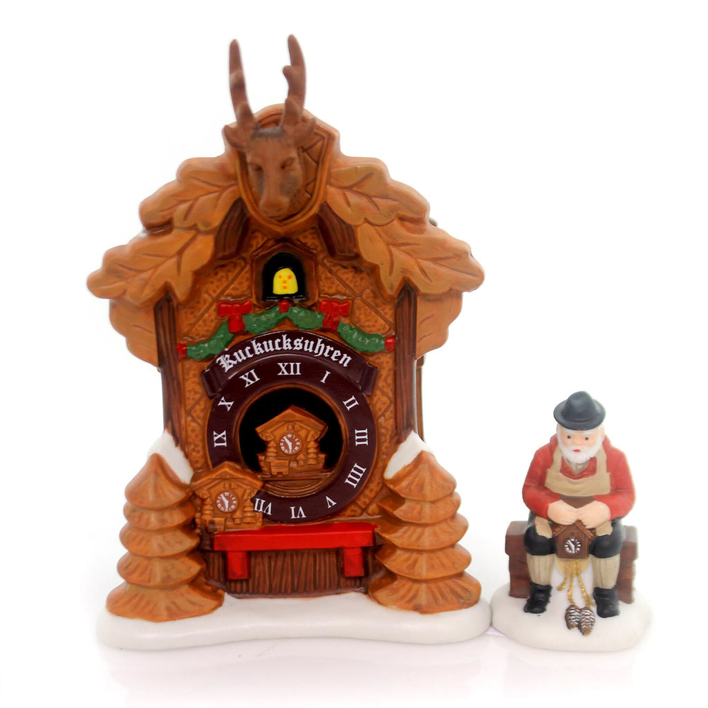 Alpine Village, Black Forest Clocks Set/2,4054960
