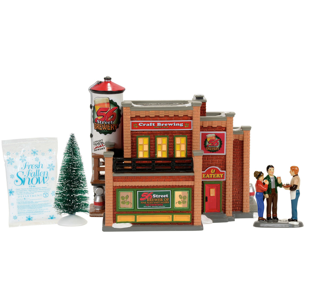 Snow Village 56 Street Brewery Box Set
