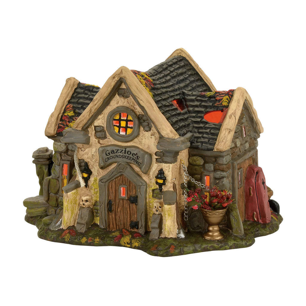 The Haunted Cemetery Shed, Halloween Village, 4056701