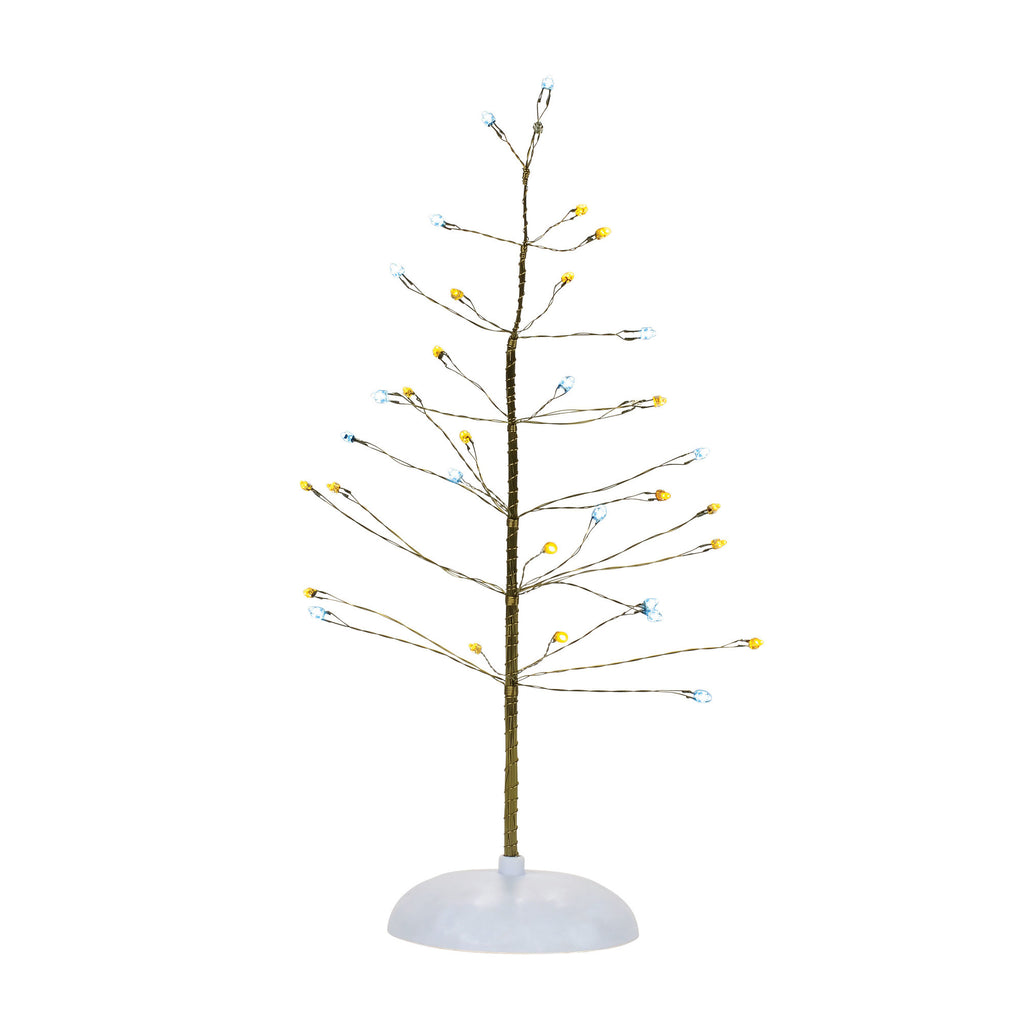 VA, Silver & Gold Twinkle Tree, 4057609, Department 56