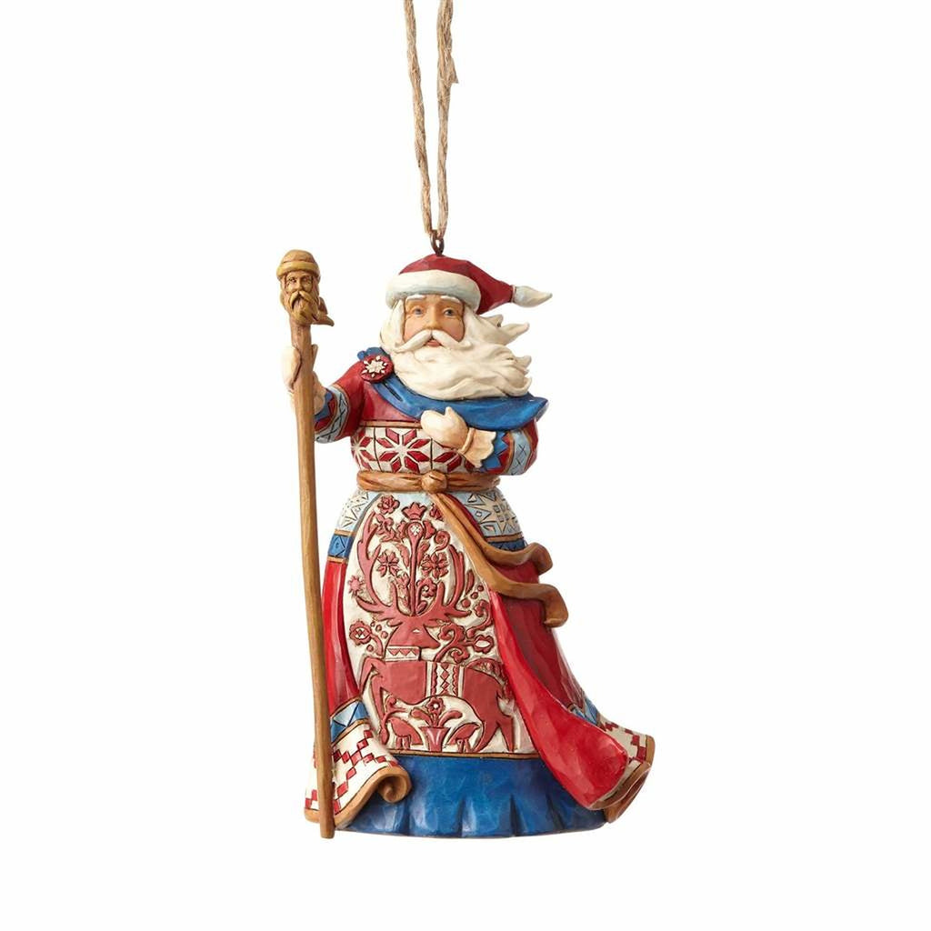 Jim Shore Lapland Santa Ornament