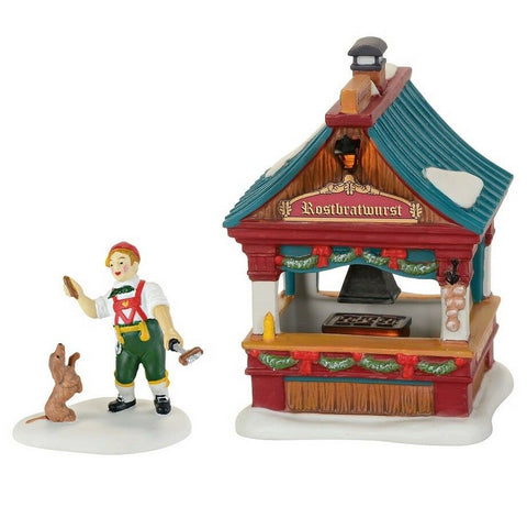 Alpine Village, Bratwurst Booth set/2,  4059378