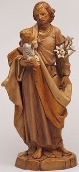 "12"" St Joseph with Christ Child, Fontanini, 42774"