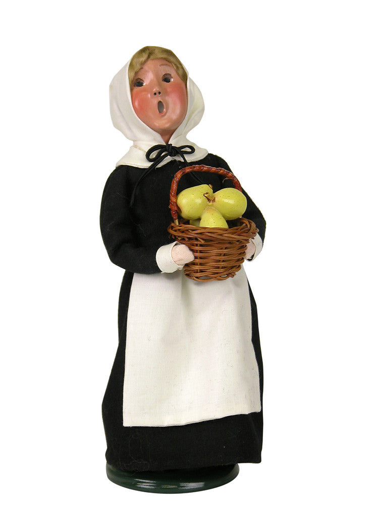Fall Pilgrim Girl, Byers Choice, 5013A