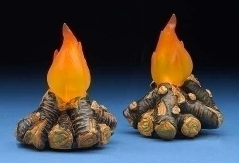 Campfires Lighted Set of 2