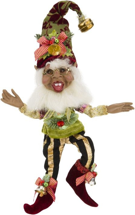 Mark Roberts Holy Jolly Elf African-American