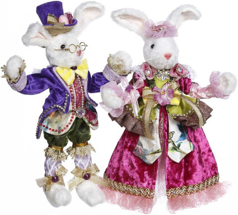 "Mr. & Mrs. Cottontail 11""-12"""