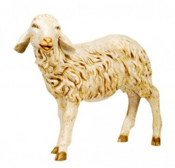 "SHEEP W/HEAD TURNED 50"", Fontanini, 52337"
