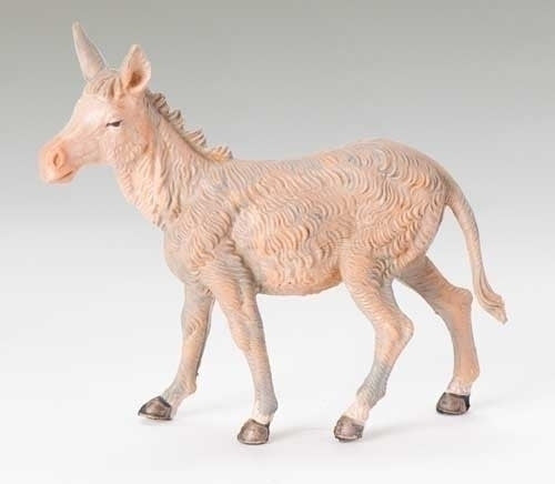 "STANDING DONKEY NATIVITY FIG 5"", Fontanini, 52443"