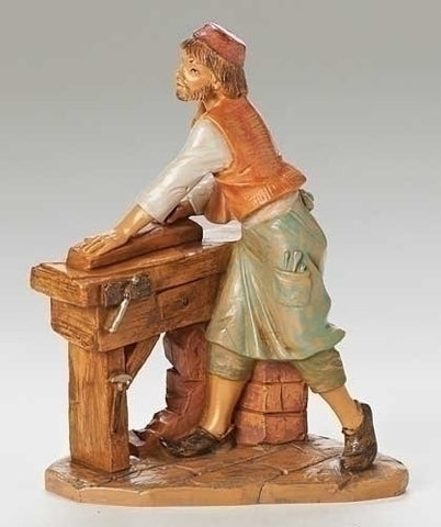 "AMOS, CARPENTER, 7.5"", Fontanini, 52859"