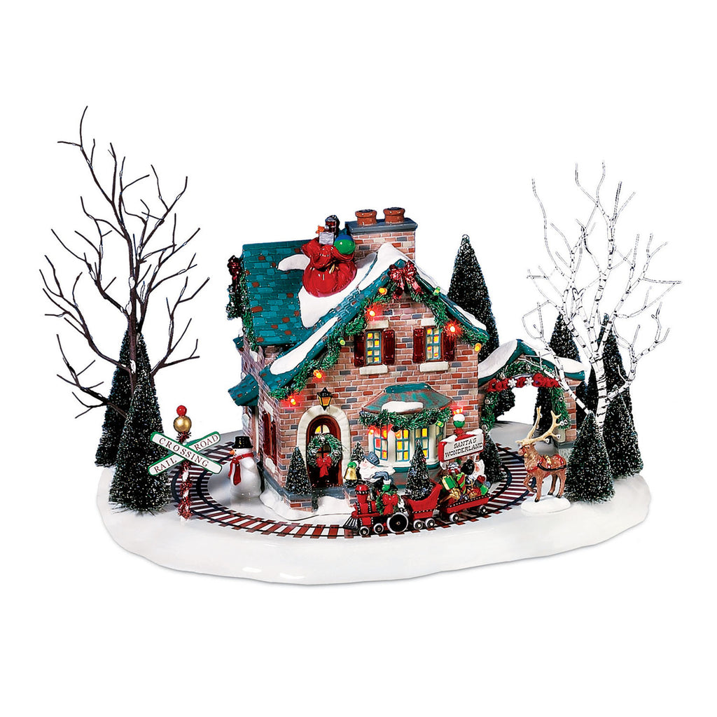 Santa's Wonderland House, Snow Village, 56.55359
