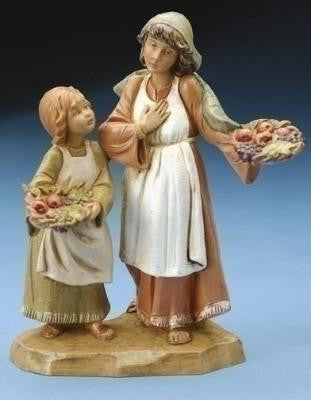 Ava & Lea Shepherdess and Child, Limited Edition 2006
