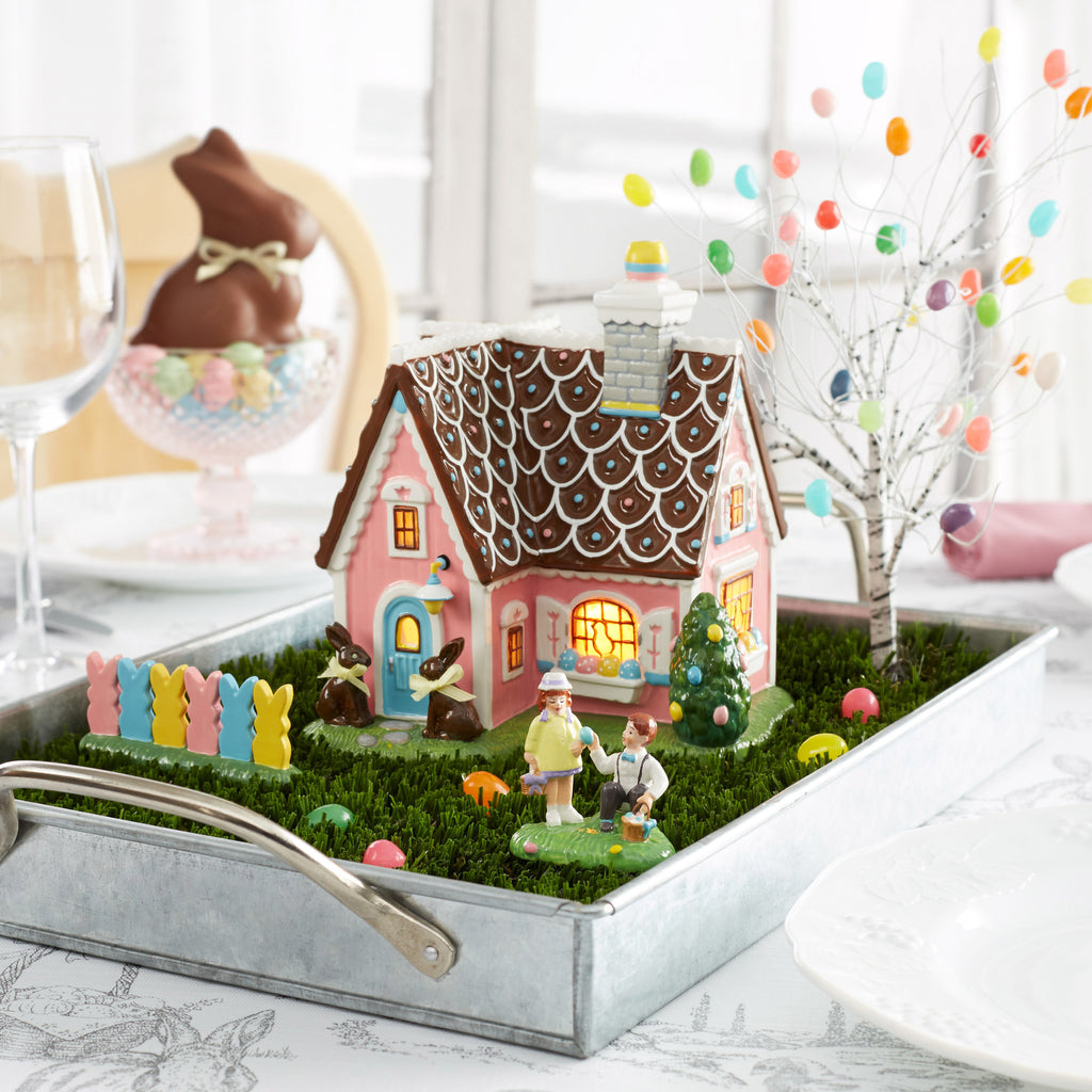 Easter Village Easter Sweets House