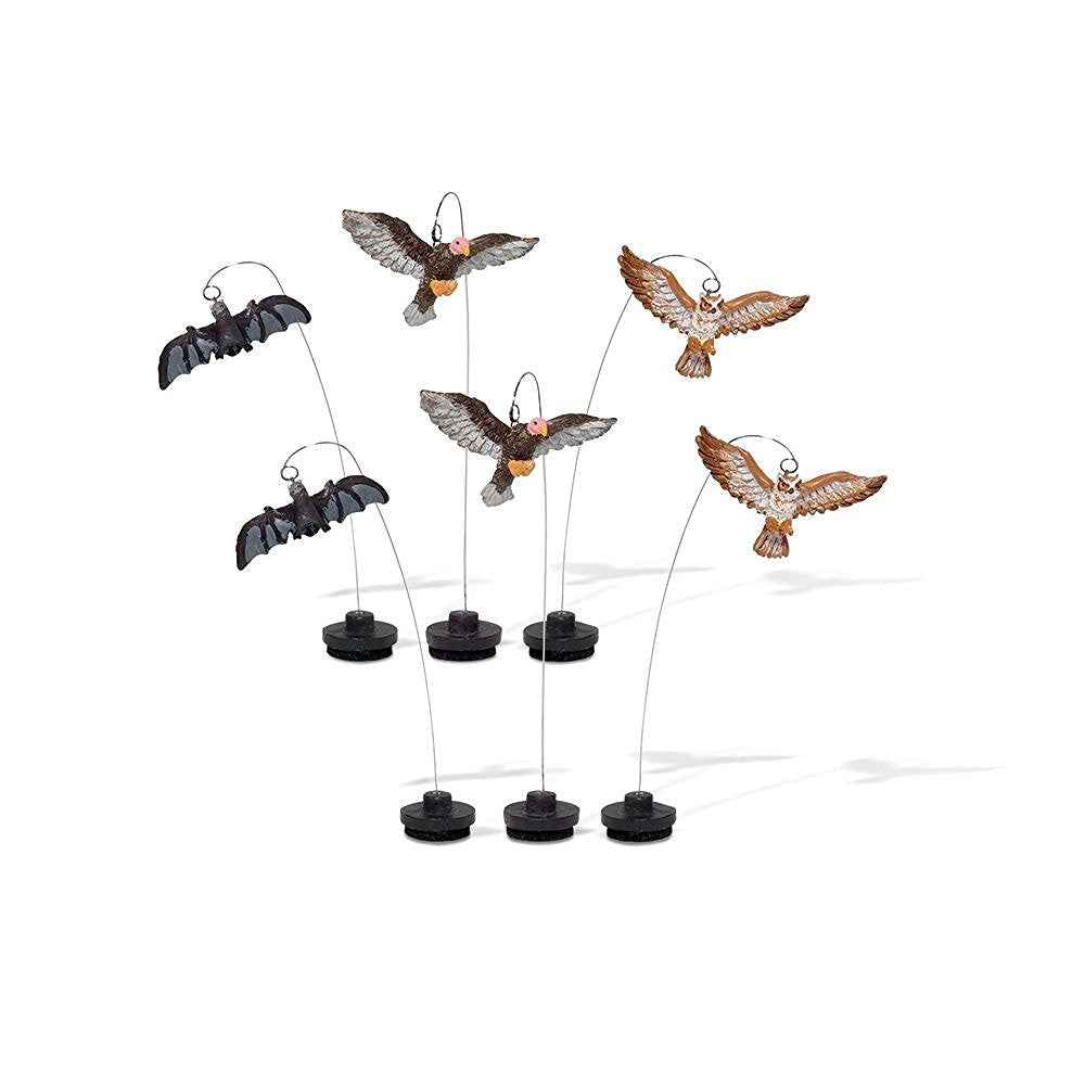 Halloween Village Creatures Of The Night, Set of 6