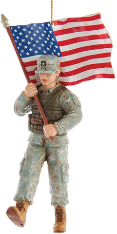 Army® soldier ornament, AM2191