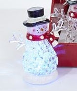 Changing Light-Up Snowman