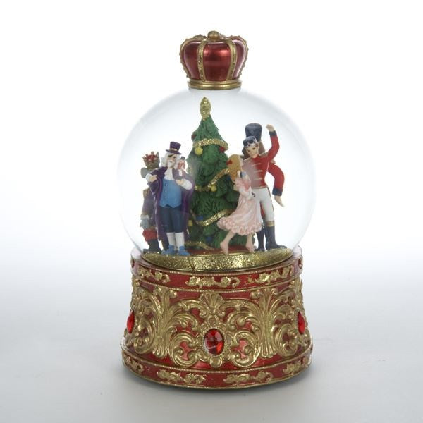 MUSICAL LIGHTED NUTCRACKER SUITE WATER GLOBE