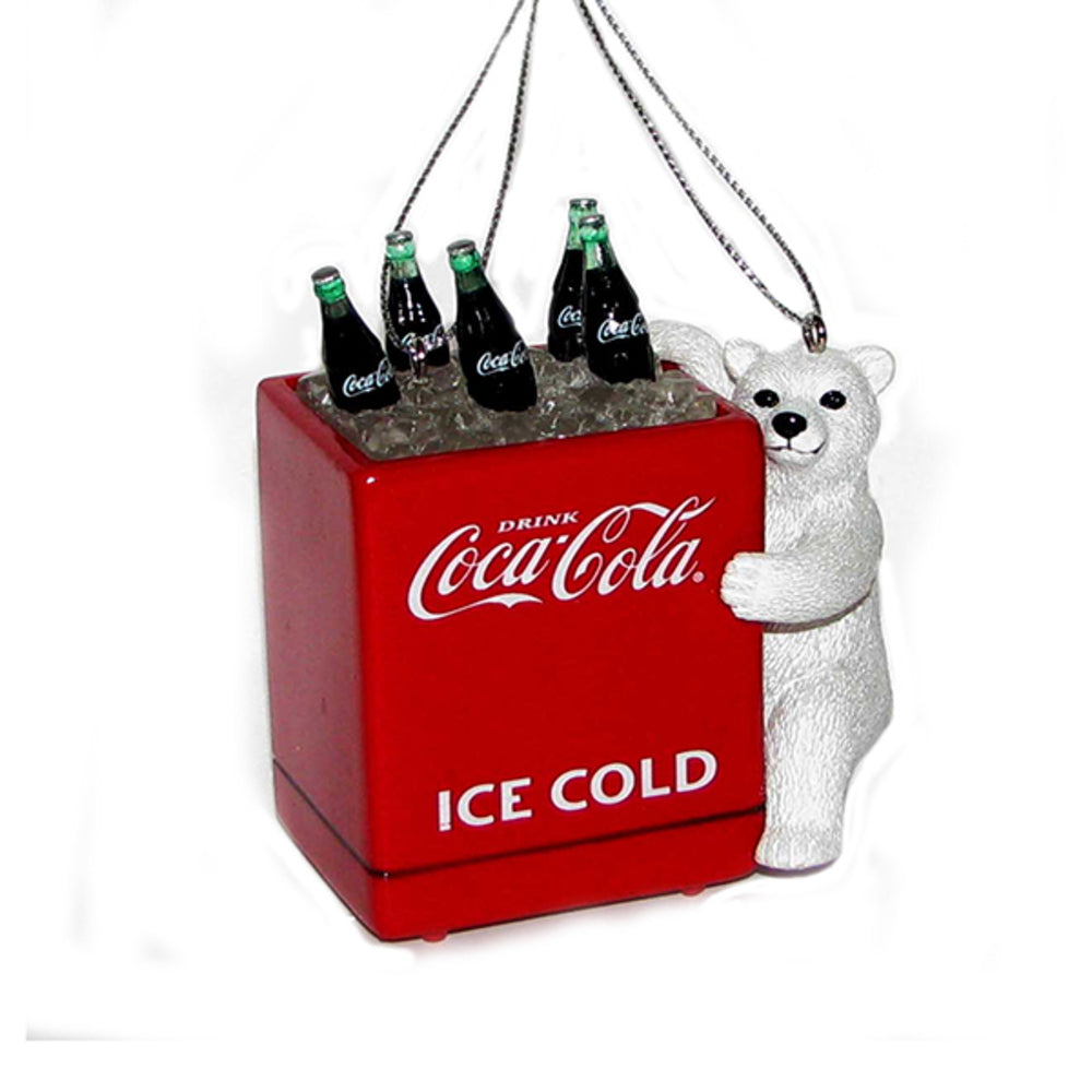 Coca-Cola Coke Bear With Cooler