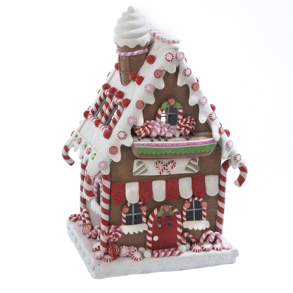 GINGERBREAD &  PEPPERMINT CANDY CLAYDOUGH HOUSE