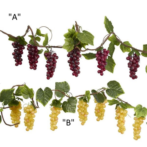 Thick Grape Vine Garland 2 Asst D1745