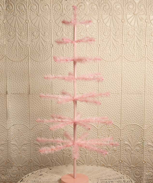 Pink Feather Tree 36″