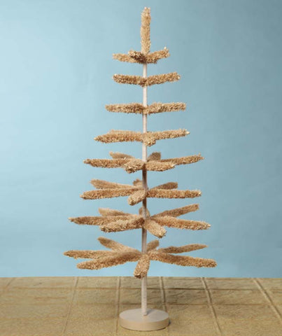 36″ Natural Raffia Tree