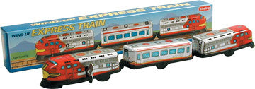 3 Car Train, Tin Wind-Up