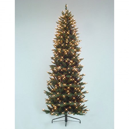 7' Black Bear Slim with Cones, Neuman Tree