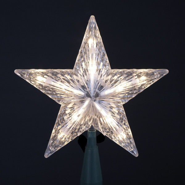 STAR 10/L TREE TOPPER, CLEAR