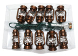 Brass Lantern Light Set 10-Light, UL4224