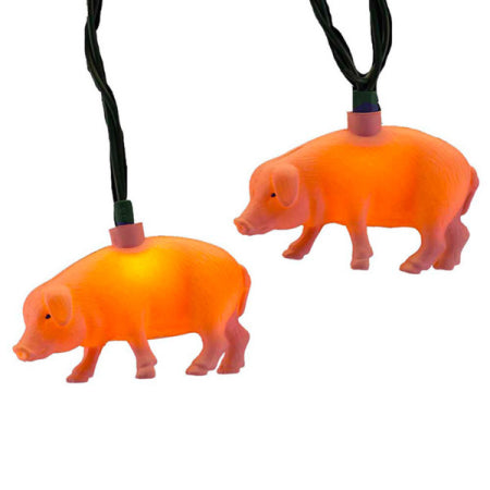 PINK PIG LIGHT SET 10/L, UL4264