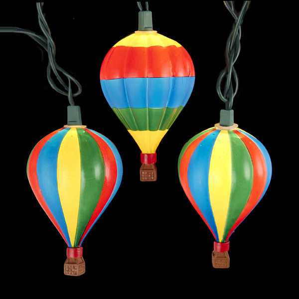 HOT AIR BALLOON LIGHT SET 10/L, UL4292