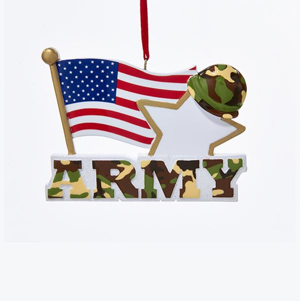 Army With American Flag