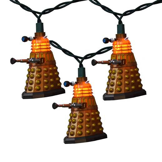DOCTOR WHO BRONZE DALEK LIGHT SET, DW9153