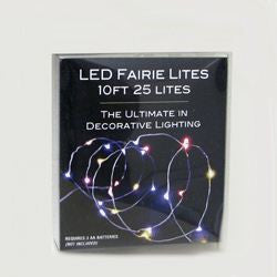 BATTERY OPERATED 25/L ULTRA THIN LED MULTI
