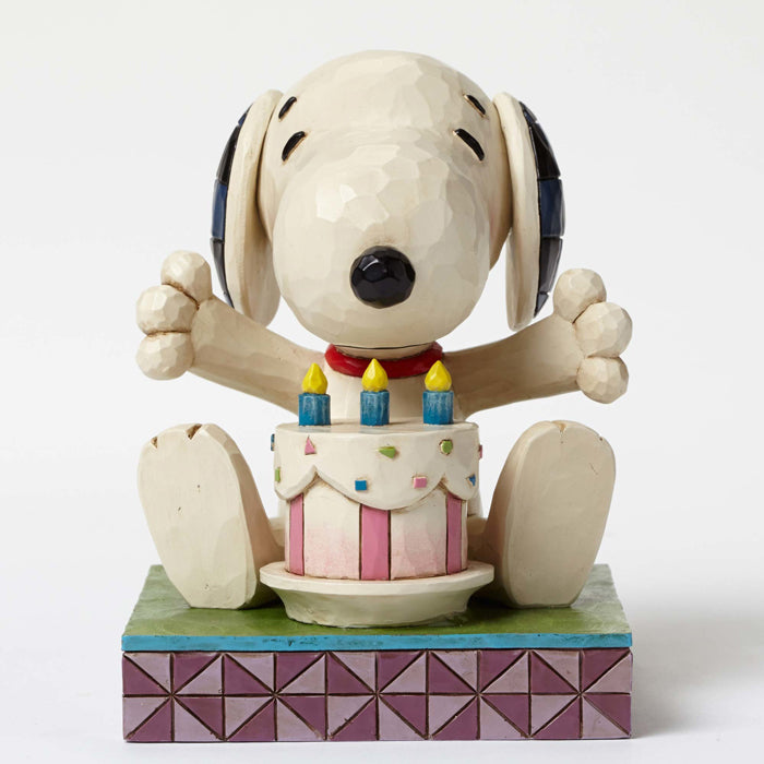 Incredible Snoopy With Birthday Cake Robert Moore Co Christmas Town Funny Birthday Cards Online Alyptdamsfinfo