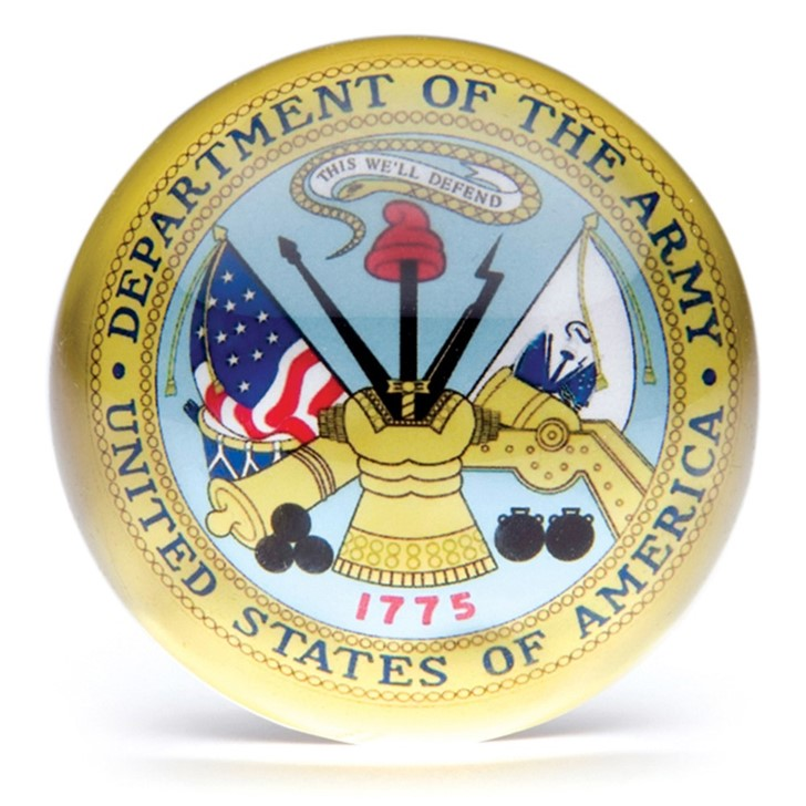 Army Paperweight