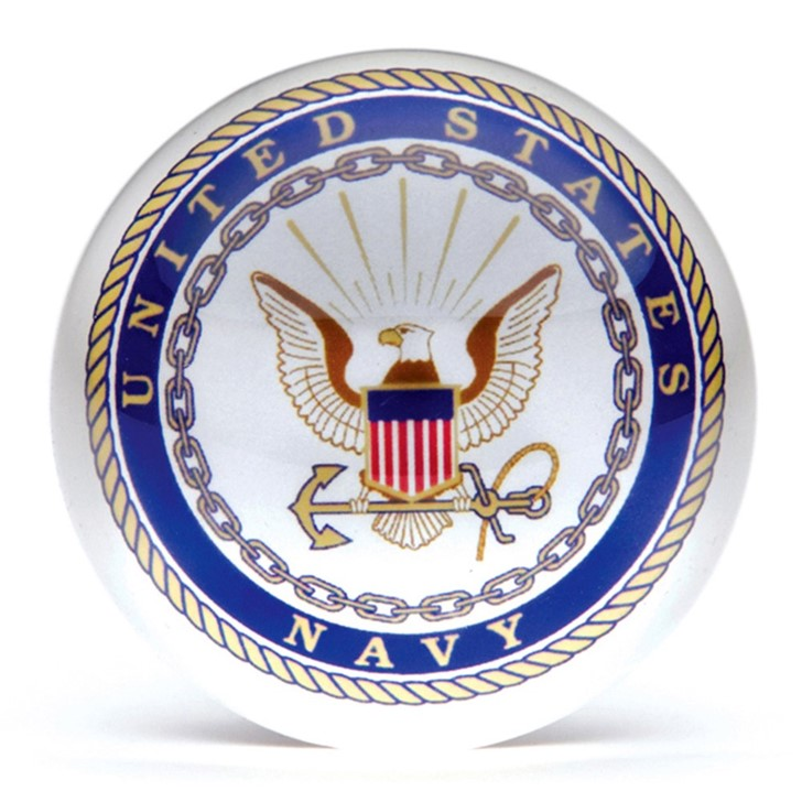 Navy Paperweight