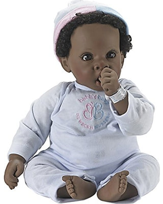 Madame Alexander Babble Baby, Brown Hair, Brown Eye Angel Love Doll