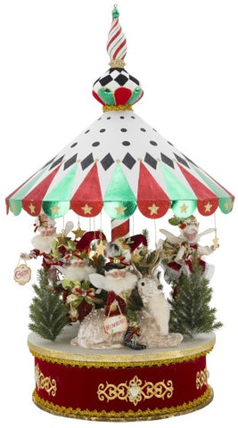 Peppermint Big Top Carousel by Mark Roberts