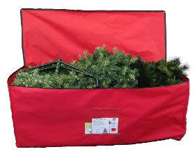 Red Canvas Tree Bag