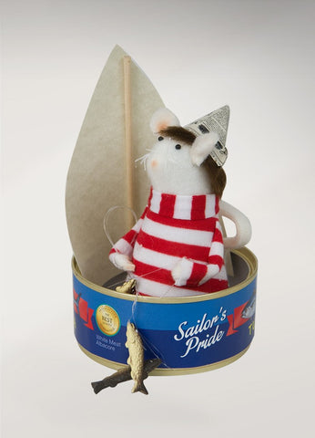 Mouse in Tuna Can
